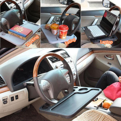 Steering Wheel Portable Car Desk