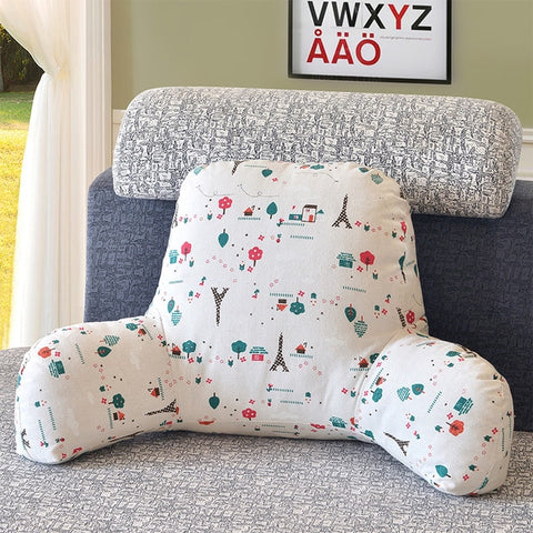 Backrest Cushion Support Pillow on chair