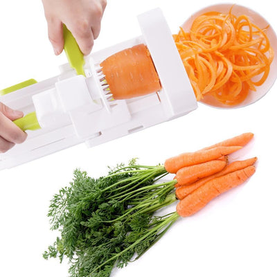 Folding 5 Blade Vegetable Spiralizer