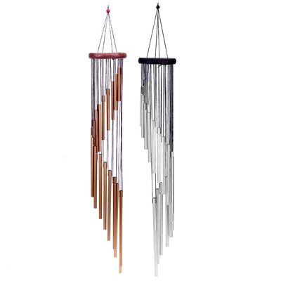 Brown Antique Wind Chimes copper white