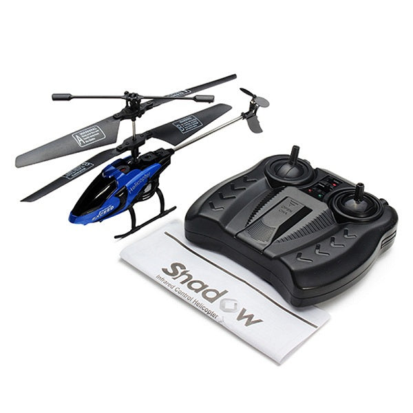 Best Remote Control Electric RC Toy Helicopter blue