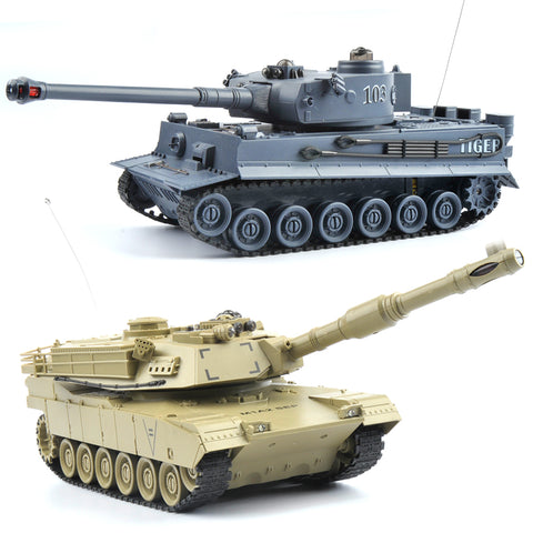 Remote Control Fighting Battle Tank 2 models