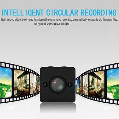 World's Smallest Mini 1080P DVR Camera - Wide Angle Lens