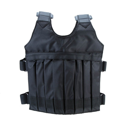 Weighted Workout Vest - back view