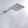 high flow rain shower head waterfall - actual example