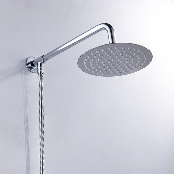 high flow rain shower head waterfall-example shower
