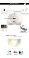 UV LED Nail Dryer lamp Product features details
