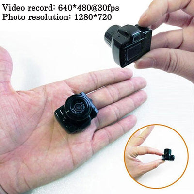 Mini HD Secret Security Video & Audio Camcorder (16GB)