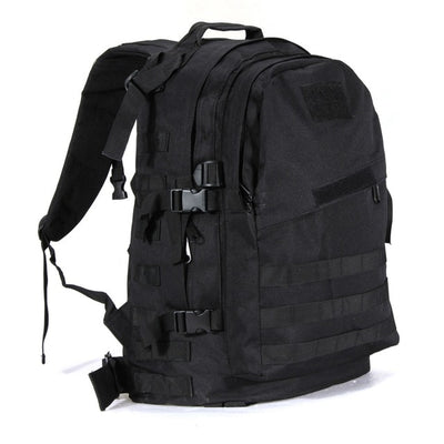 ARMY MILITARY TACTICAL RUCKSACK BACKPACK BAG - Black
