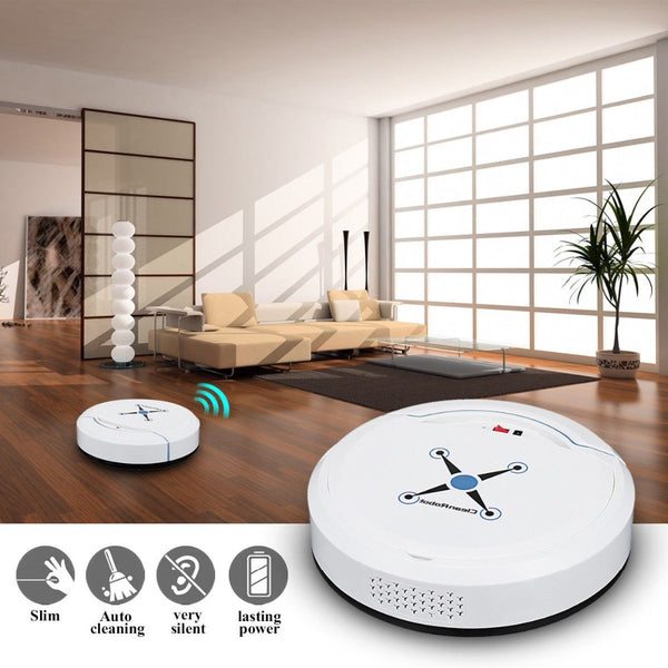 Automatic Robot Vacuum Floor Cleaner Self Cleaning - sensor going off