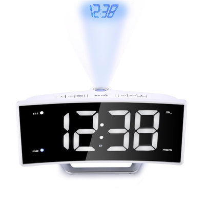 projection alarm clock