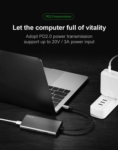 Multifunctional Laptop Docking Station connect vitality