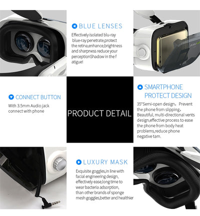 Virtual Reality Glasses Headset details