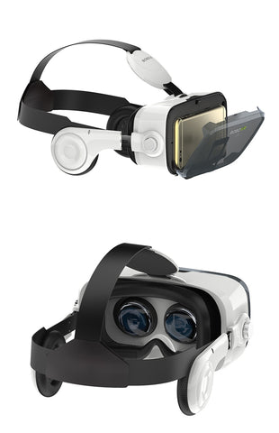 Virtual Reality Glasses Headset front and back