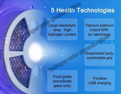 Hydrogen Rich Water Machine