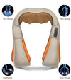 Infrared Back Neck Shoulder Massager 4 features