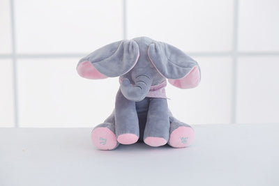 Peek A Boo Flappy The Stuffed Animal Elephant
