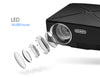 Mini Home Theater HD LED Projector Lenses LED