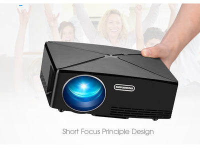 Mini Home Theater HD LED Projector handling