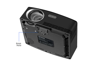 Mini Home Theater HD LED Projector bottom view