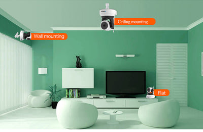 Smart Camera with Motion Sensor WiFi Baby Monitor example