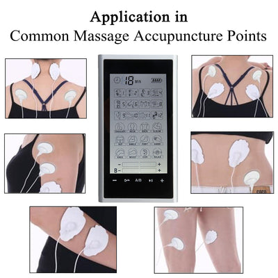 Portable TENS Unit Machine Application body