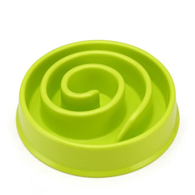 Slow Feeder Eating Dog Bowl To Slow Fast Eating