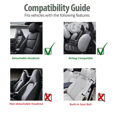 Leather Car Seat Covers compatibility