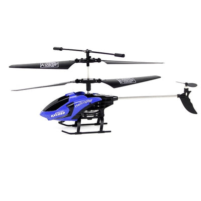 Best Remote Control Electric RC Toy Helicopter- blue