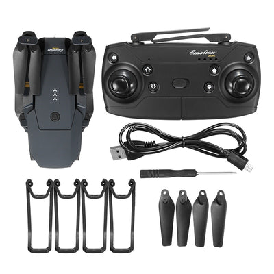Remote Control Professional Mini Camera Drone inclusion and parts