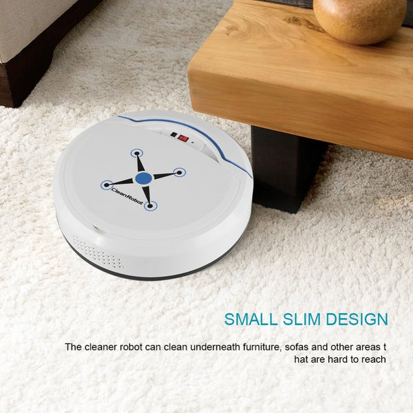 Automatic Robot Vacuum Floor Cleaner Self Cleaning - near table