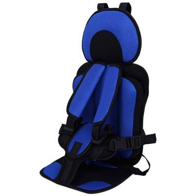 Portable Baby Car Booster Seat For Travel dark blue