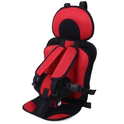 Portable Baby Car Booster Seat For Travel red color