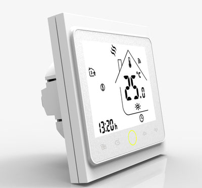 Programmable Smart Wifi Home Thermostat side view
