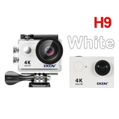 4K Best Action Camera white