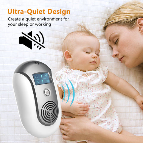 Electronic Ultrasonic Pest Repeller To Keep Insects and Creatures Away quiet