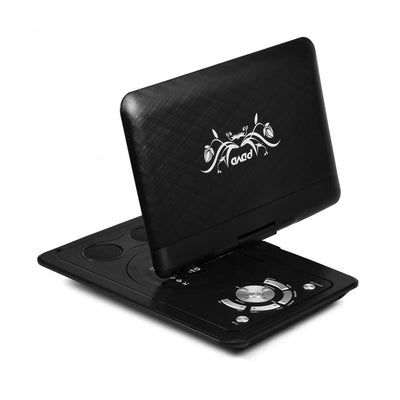 portable mini dvd player with screen-back view angle