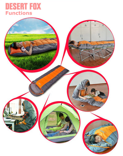 Waterproof Compact Sleeping Bag features and use