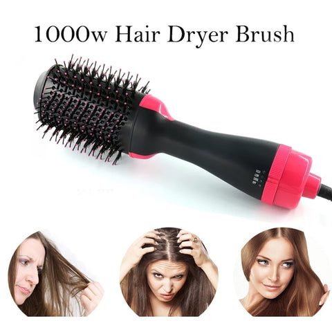 Professional Hair Dryer Brush front view