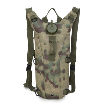Hydration Water Drink Hiking Backpack design 1 original camouflage