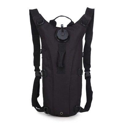 Hydration Water Drink Hiking Backpack design 4 pure black