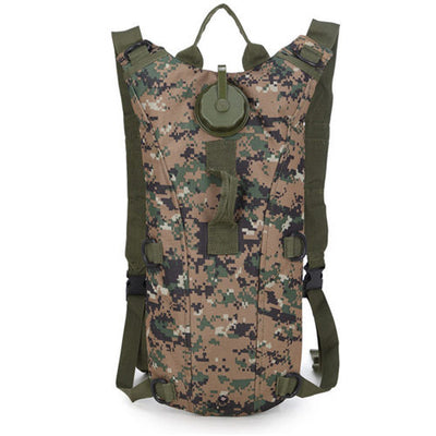 Hydration Water Drink Hiking Backpack design 8 camouflage brown green
