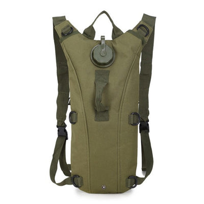 Hydration Water Drink Hiking Backpack design 10 pure green