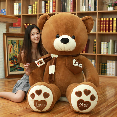 Huge High Quality Giant teddy bear - dark brown