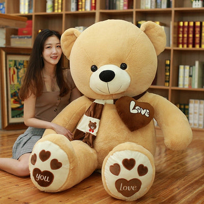 Huge High Quality Giant teddy bear - light brown