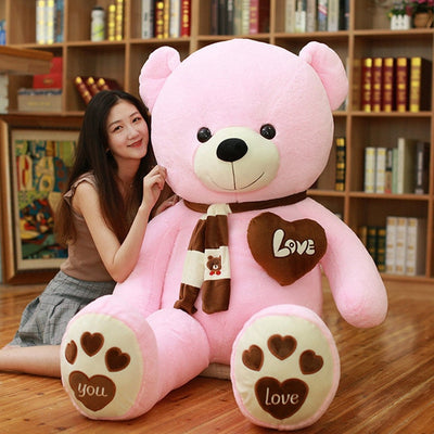 Huge High Quality Giant teddy bear - pink