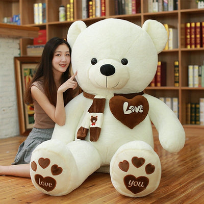 Huge High Quality Giant teddy bear - white