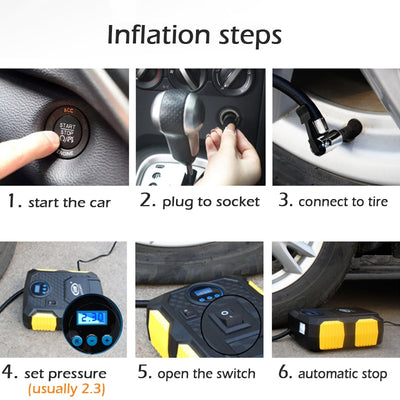 tire inflator how to use