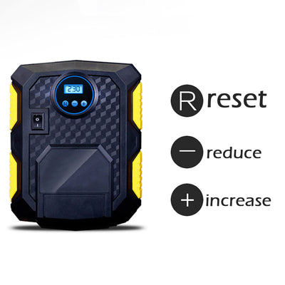 tire inflator reset options