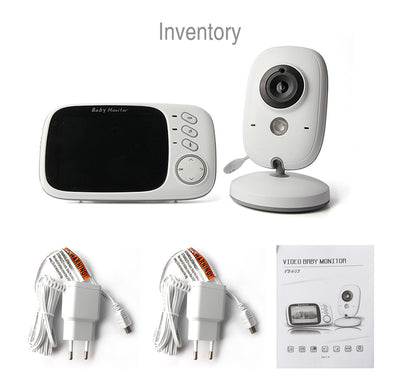 3.2 Inch Wifi Audio Video Baby Monitor set